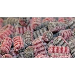 Schwedische Himbeer Bonbons